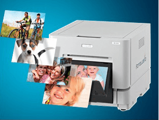 thermo-sublimation photo-printer